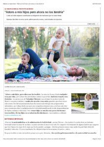 Articulo El Periodico Madres Arrepentidas