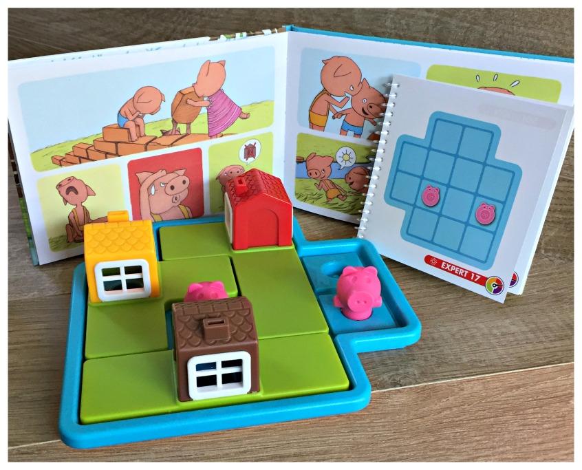 Alt_imagen tablero del juego de mesa Los Tres Cerditos