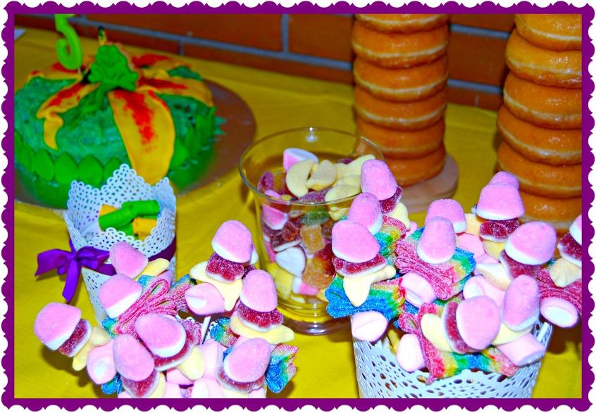 Alt_imagen parcial del Candy Bar Fiesta cumpleaños Carla