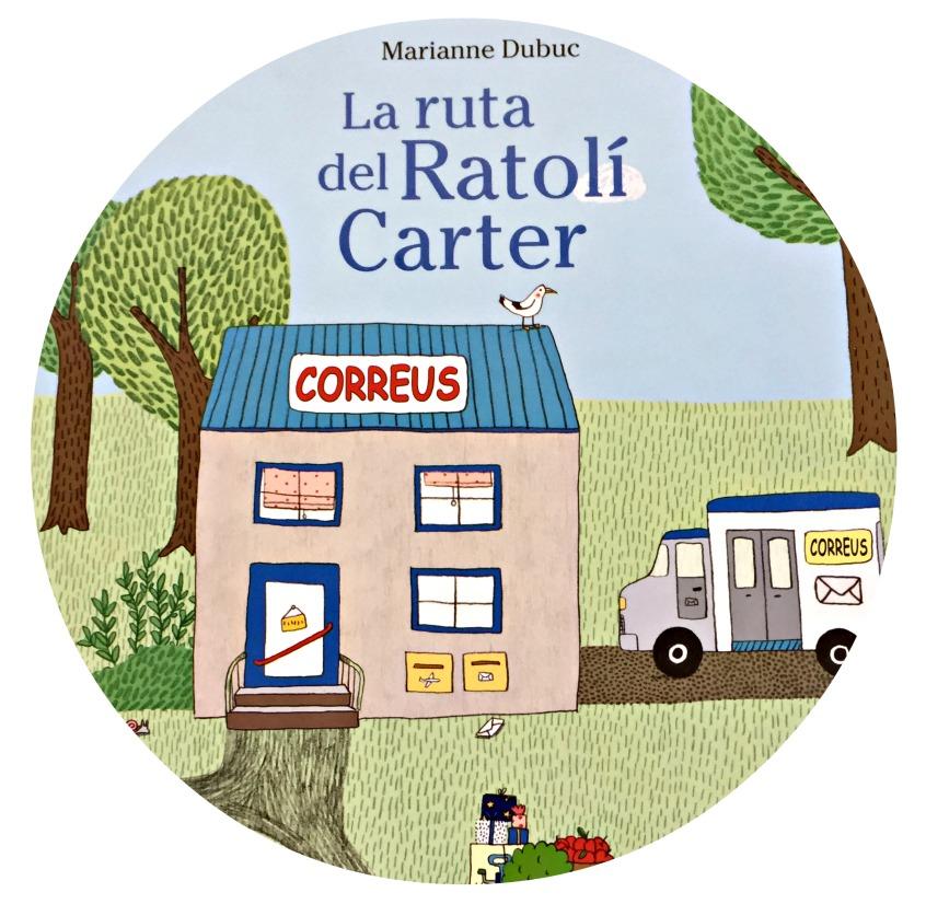 Alt_imagen parcial de la portada La ruta del ratón cartero, editorial Joventut
