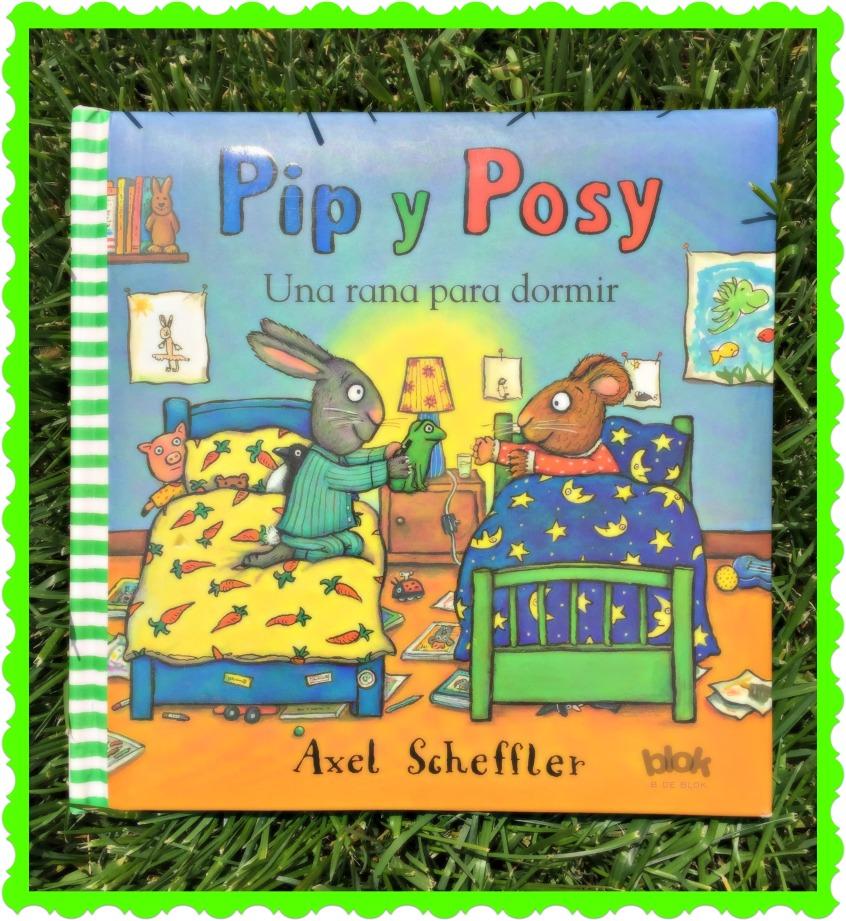 Alt_portada del cuento infantil Pip y Posy, una rana para dormir