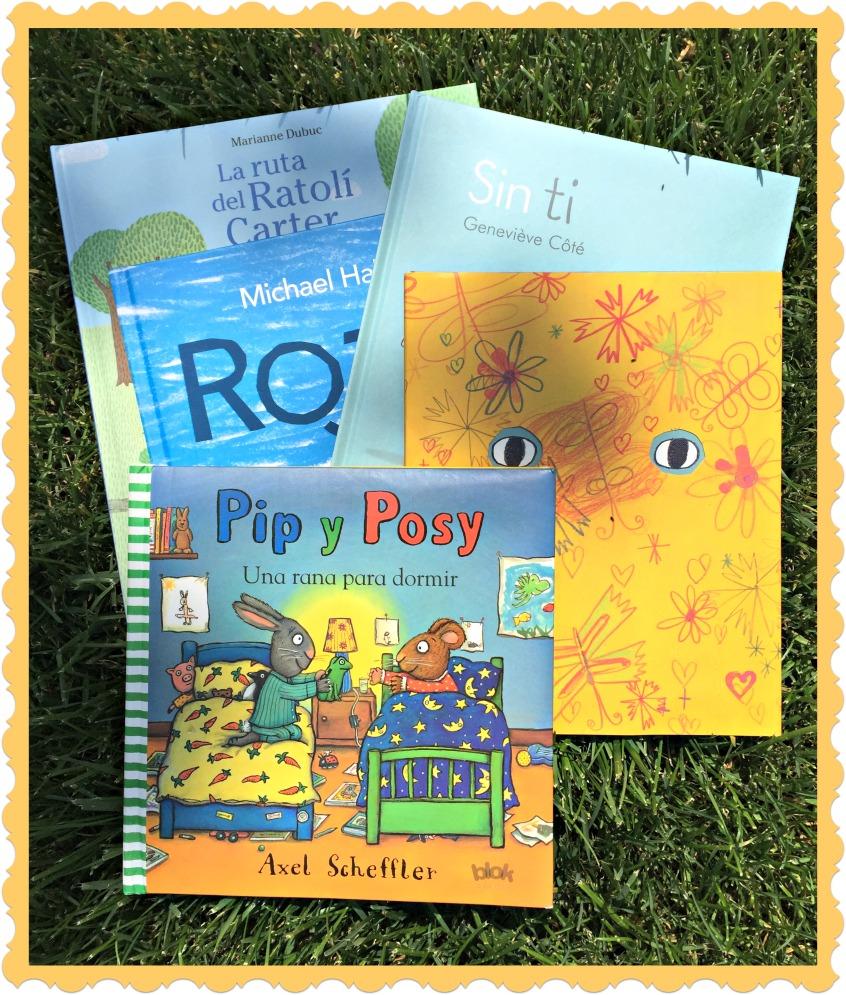 Alt_portada cinco cuentos infantiles para Sant Jordi