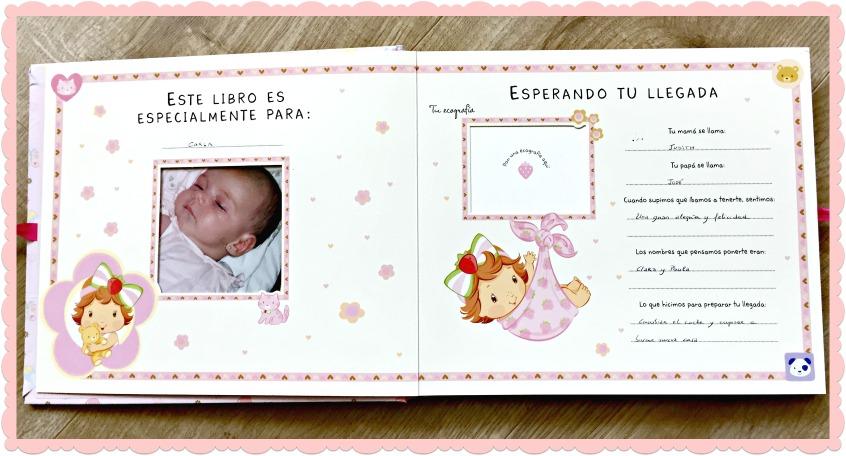Alt_imagen de las primeras páginas del álbum de fotos de Carla