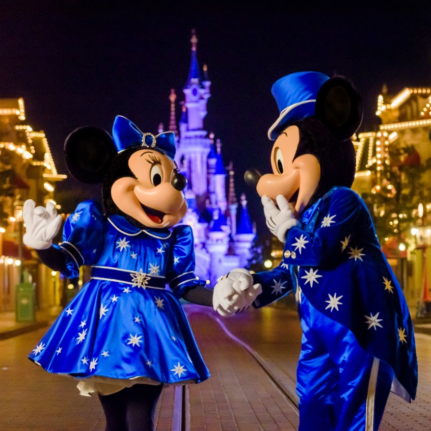Alt_Mickey y Minnie 25 aniversario de Disneyland Paris