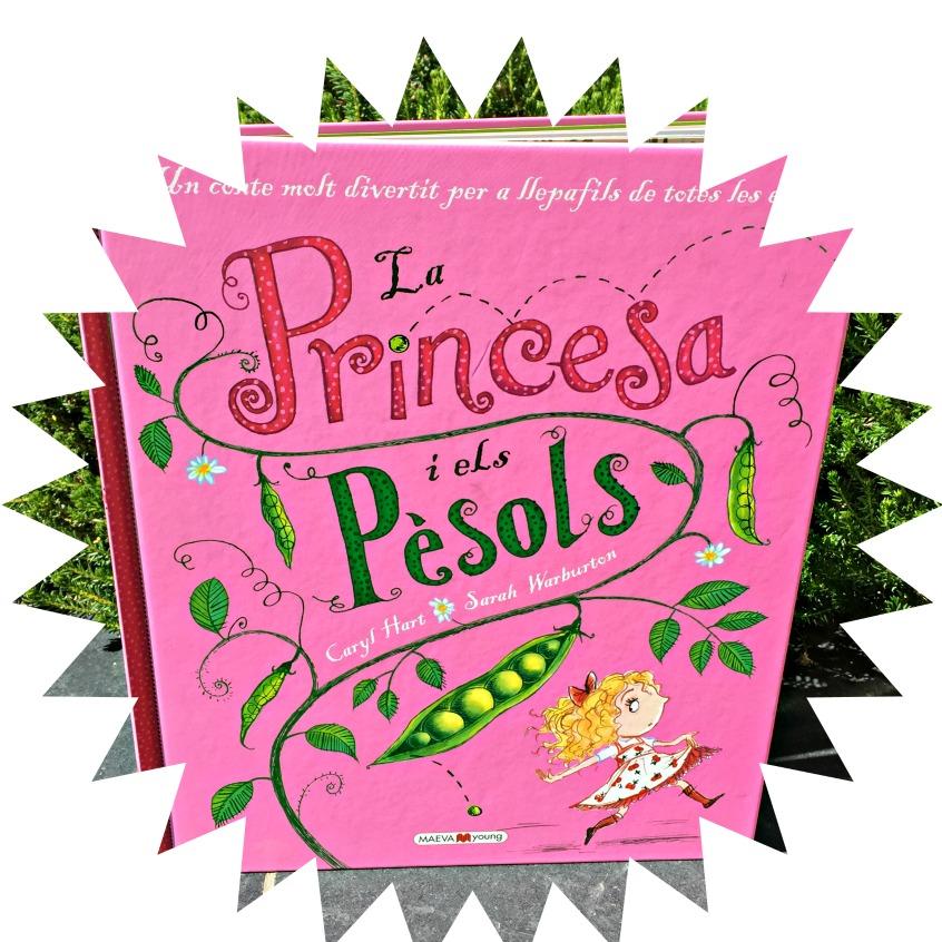 """Alt_portada libro """"la princesa i els pèsols"""" de Maeva Young"""