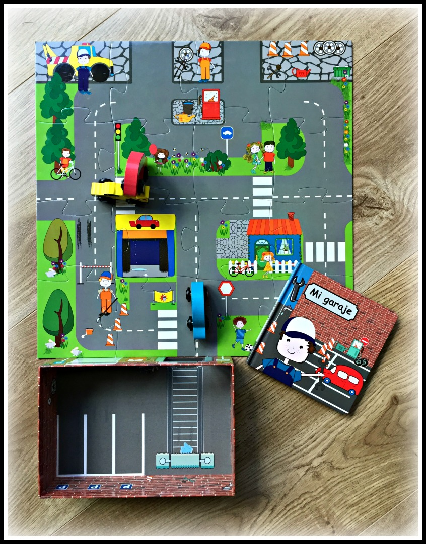 Alt_contenido caja del cuenta juego Mi Garaje