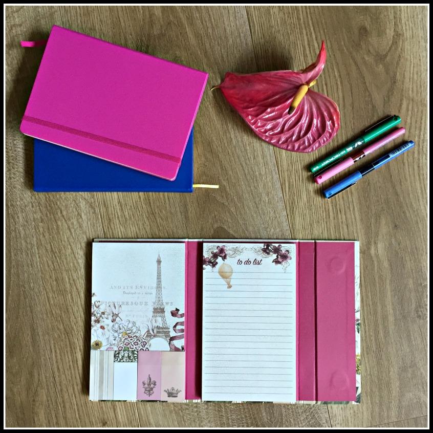 Alt_Imagen bloc de notas y cuadernos de inspiración para hacer la maleta