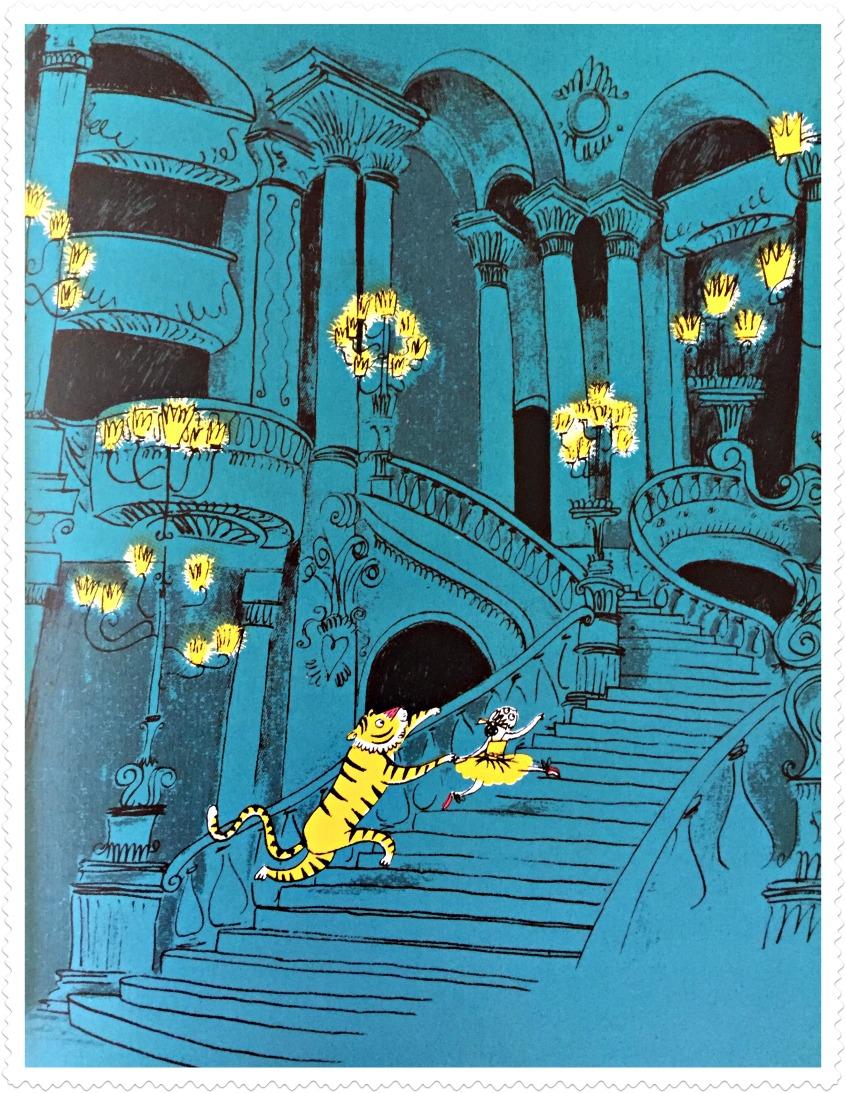 Alt_imagen de Max y Celeste subiendo las escalinatas de la opera de París