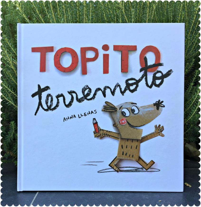 Alt_imagen de la portada del cuento ilustrado Topito Terremoto de Anna LLenas y publicado por editorial Beascoa