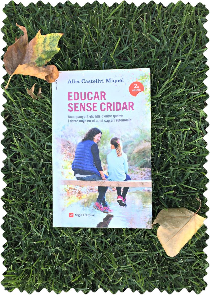 """Alt_portada libro """"Educar sin gritar"""" de Alba Castellví"""