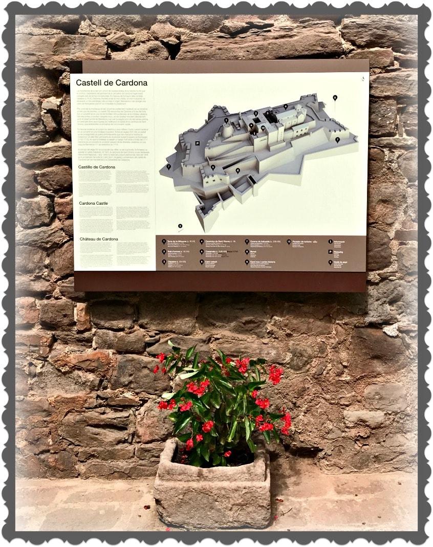 Alt_imagen del plano del castillo de Cardona