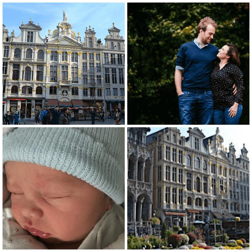 maternidad en Bélgica