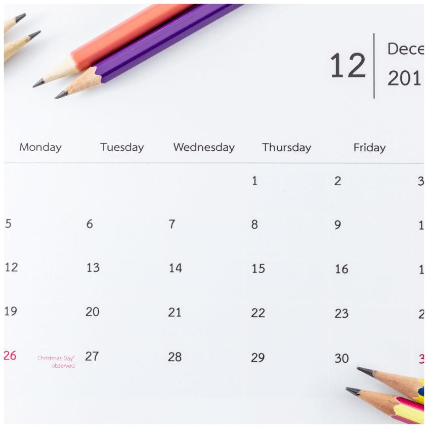 planificar el año nuevo